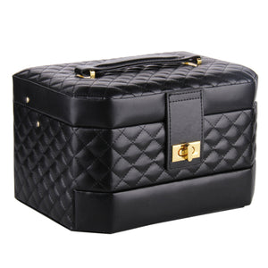 Jewelry Box Storage Case Beads Rings Bracelets Brooches Watch Case Gift Box