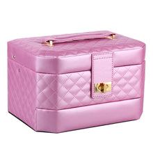 Load image into Gallery viewer, Jewelry Box Storage Case Beads Rings Bracelets Brooches Watch Case Gift Box