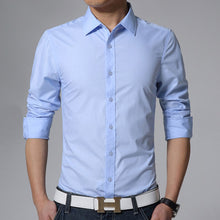 Load image into Gallery viewer, Slim Fit Dress Shirt -  Look-fly.ca