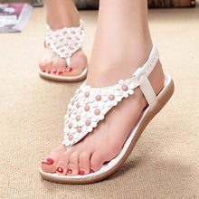Load image into Gallery viewer, Flip Flops Fashion Summer Flat Sandals Bohemian Ladies Sandals Casual Women Shoes