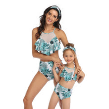 Load image into Gallery viewer, Bikini Set Female Retro Swimwear Push Up Bathing Suit