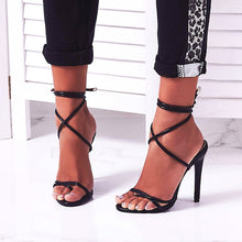 Load image into Gallery viewer, Women's 12cm High Heels Shoes Sandals Women Pumps Big Large Size