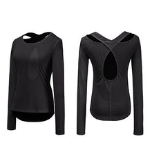 Load image into Gallery viewer, Long Sleeve Sports Top Shirt -  Look-fly.ca