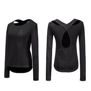 Long Sleeve Sports Top Shirt -  Look-fly.ca