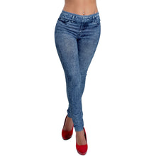 Load image into Gallery viewer, Denim Jeans Leggings -  Look-fly.ca