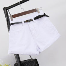 Load image into Gallery viewer, Short Jeans Cotton Slim Feminino Clothing Pants