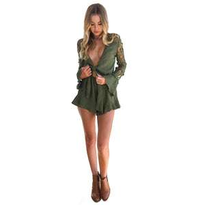 Jumpsuit Romper Shorts -  Look-fly.ca
