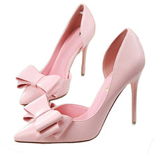 Load image into Gallery viewer, High Heel Shoes Side Hollow Pointed Stiletto Heels Shoes
