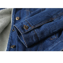 Load image into Gallery viewer, Outwear Wide Denim Jacket -  Look-fly.ca