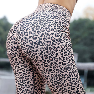 Leopard Printed Leggings Femme S-XL -  Look-fly.ca