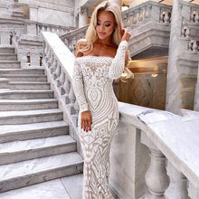 Load image into Gallery viewer, White Strapless Party Sexy Dresses -  Look-fly.ca