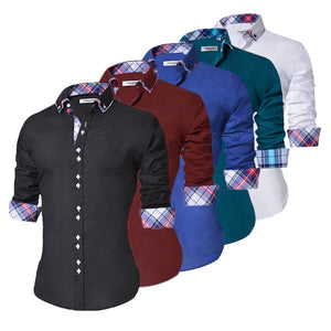 Sleeve Formal Dress Shirts -  Look-fly.ca