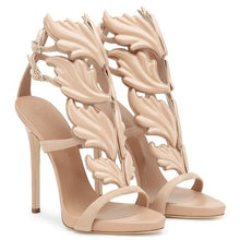 Load image into Gallery viewer, Women's Patent High Heel Sandals