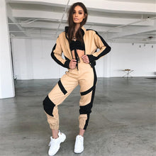 Load image into Gallery viewer, Cargo Pants Women Streetwear Sweatpants Joggers Loose Trousers