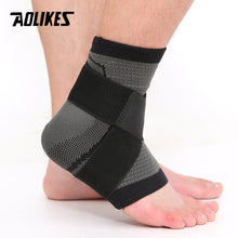 Load image into Gallery viewer, AOLIKES 1PCS 3D Weaving Elastic Nylon Strap Ankle Fitness Heel Protector