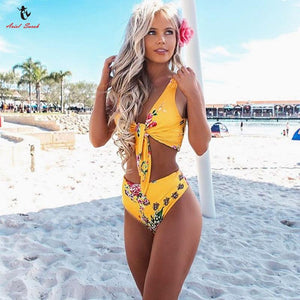 High Waist Bikini Sexy Women Swimsuit Bathing Suit