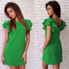 Load image into Gallery viewer, Backless Casual Style Beach Mini Party Club Dresses
