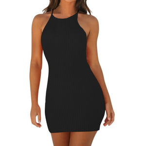 Women Sexy Backless Mini Dresses -  Look-fly.ca