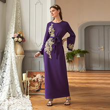 Load image into Gallery viewer, Arabian embroidery dress