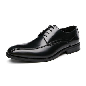 Leather Luxury Fashion Business Casual Oxford Shoes