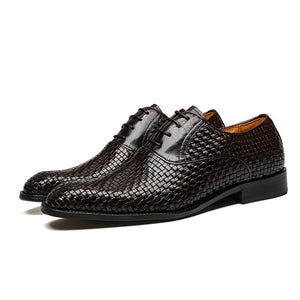 Business Shoes Bullock Genuine Leather Black