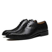 Load image into Gallery viewer, Business Shoes Bullock Genuine Leather Black