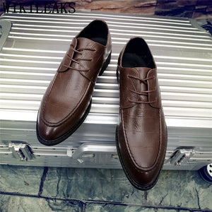 Oxford Leather Italian Business Shoes