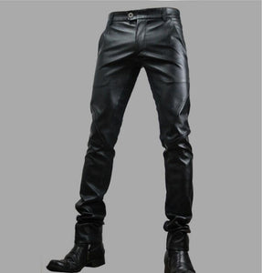 Motorcycle Leather Trousers Pants