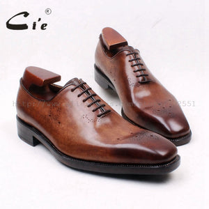 100%Genuine Calf Leather Outsole Breathable Goodyear Welted Men Shoes