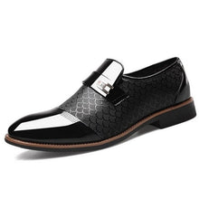 Load image into Gallery viewer, Slip On Dress Shoes Men Oxfords