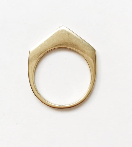 Artemis Arrow Skinny Stack Ring