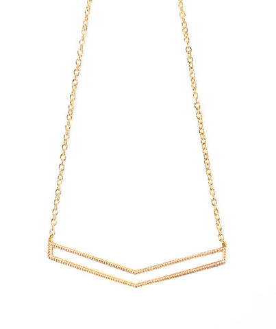Dame Chevron Necklace