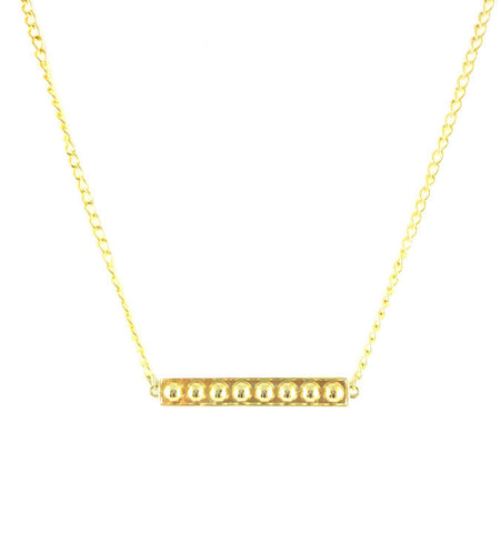 Dame Bar Necklace