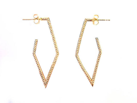 Dame Triangle Earrings