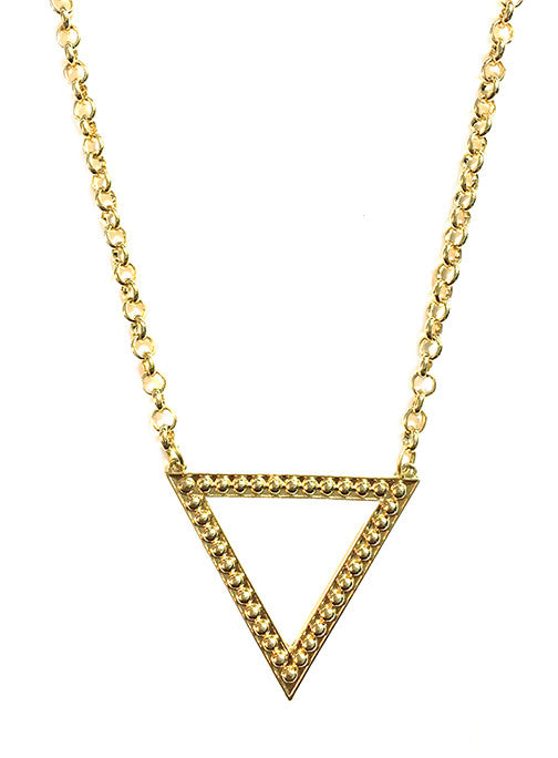 Dame Triangle Necklace
