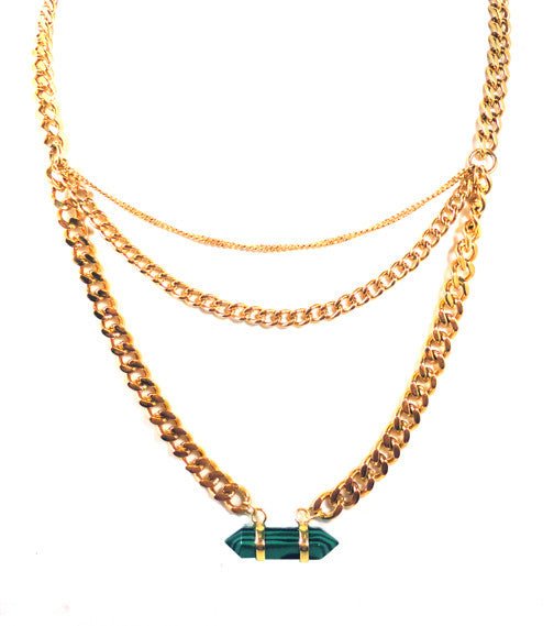 Gem Love Decollete Necklace