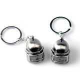 Game Playerunknown's Battlegrounds Keyring Special-Forces Level 3 Helmet 3D Pendant PUBG Keychain Charm Souvenir Gifts buy from Abelestore.com in India