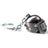 Game Playerunknown's Battlegrounds Keyring Special-Forces Level 3 Helmet 3D Pendant PUBG Keychain Charm Souvenir Gifts