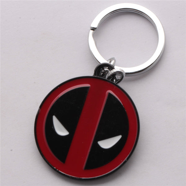 Movie Marvel Comics Deadpool Logo Keyring Keychain DM1794 buy from Abelestore.com in india