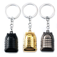 Playerunknown's Battlegrounds Keyring Level 3 Backpack Model Game PUBG Keychain Charm Gift Souvenir Jewelry For Fans buy in india from Abelestore.com