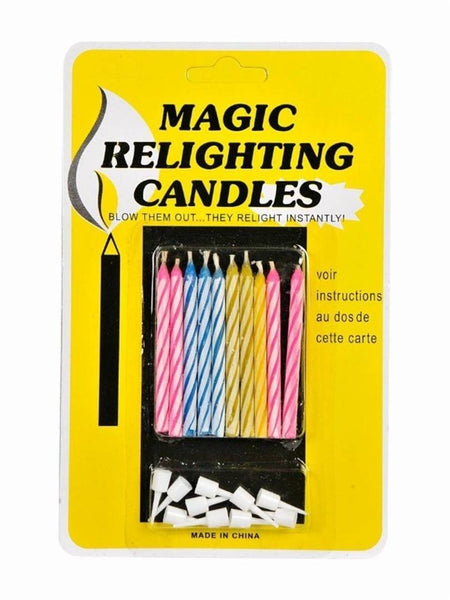 Magic Relighting Birthday Candles