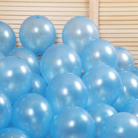 Metallic Balloons for Birthday Party, New Year, Diwali & Anniversary Decoration (Pack of 50)