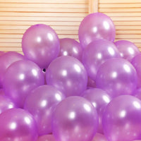 50pcs Abel Metallic Balloons for Birthday Party, New Year, Diwali & Anniversary Decoration