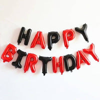 Abel Happy Birthday Foil Balloon Banner for Party Decoration
