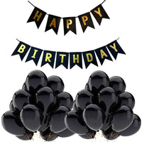 Happy Birthday Banner & Balloons for Birthday Party Decoration