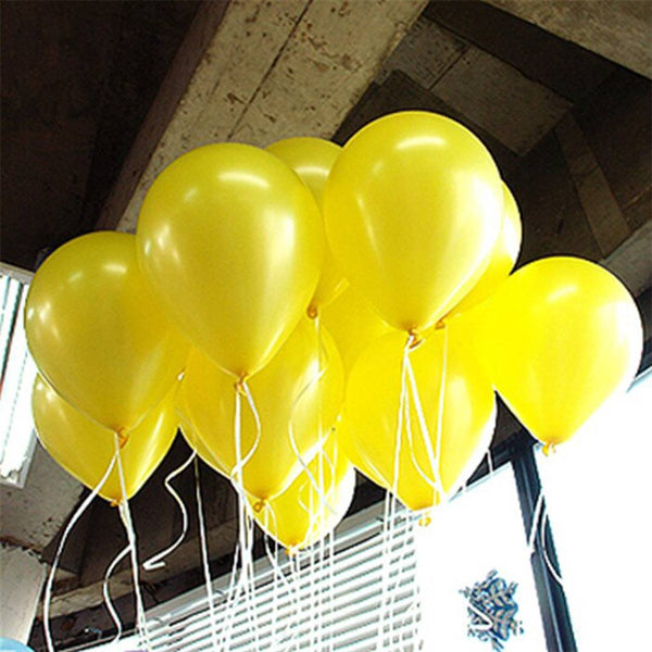 HD Metallic Balloons for Birthday Party Decoration (Pack of 50)