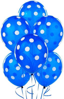Abel Happy Birthday Dotted Balloons for Birthday Party Decoration (Pack of 50) - Abelestore