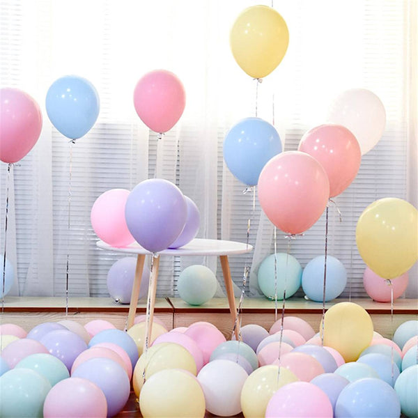 Happy Birthday Dotted Balloons for Birthday Party Decoration (Pack of 50) - Abelestore