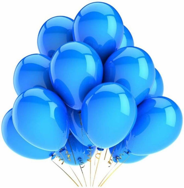 Abel Happy Birthday Balloons for Birthday Party Decoration (Pack of 50)