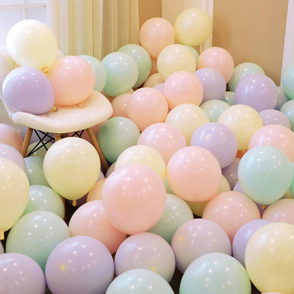 Happy Birthday Balloons for Birthday Party Decoration (Pack of 50)